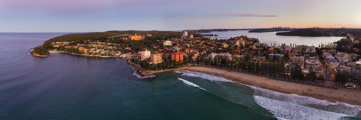 Northern beaches of Sydney