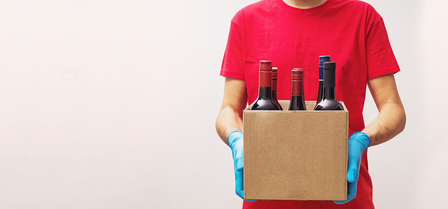 Alcohol delivery